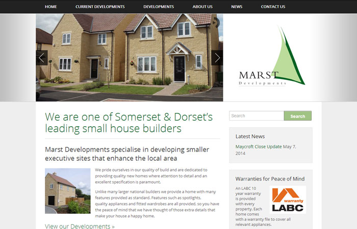 marst-developments-website