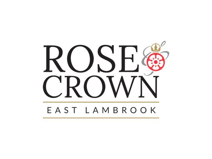 Rose & Crown East Lambrook - Logo Design